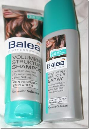 balea professional volumen struktur shampoo und volumen struktur spray. Black Bedroom Furniture Sets. Home Design Ideas
