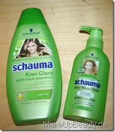 schauma kiwi ganz shampoo anti kalk shampoo und easy pflege fluid kiwi glanz mit anti kalk. Black Bedroom Furniture Sets. Home Design Ideas