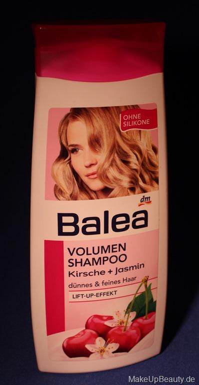 ich bin verliebt balea volumen shampoo kirsche jasmin. Black Bedroom Furniture Sets. Home Design Ideas