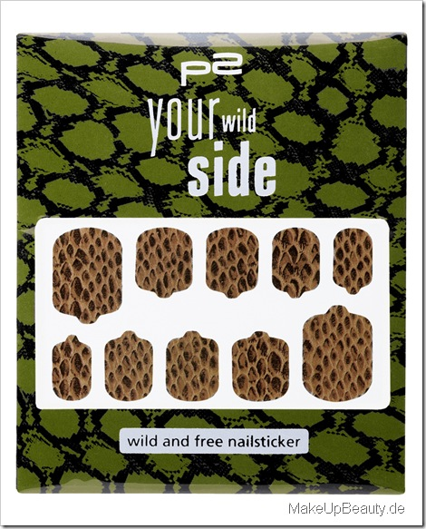 wild and free nailsticker
