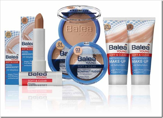 Balea_Young Soft & Clear Serie