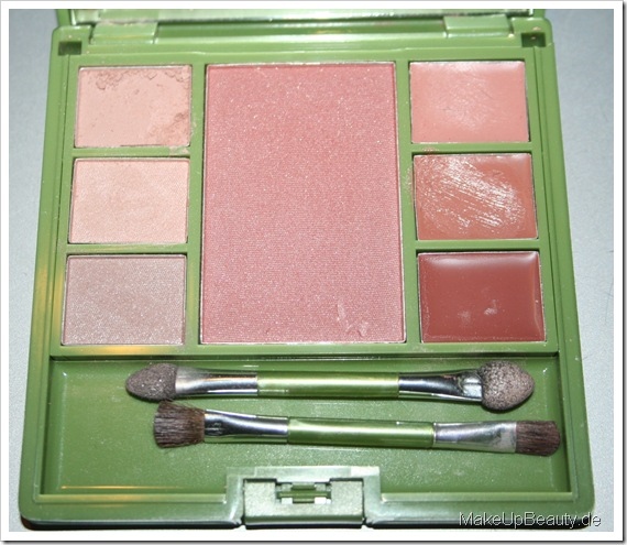 alverde Make-Up Palette 002 Nude Deluxe