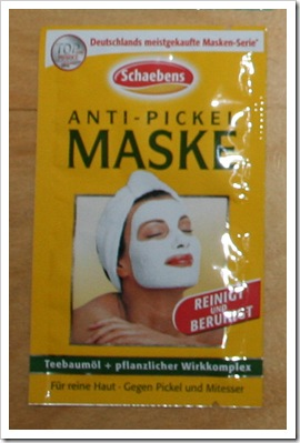 Anti-Pickel Maske