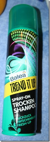 Balea Trend it up - Spray-on Trocken Shampoo