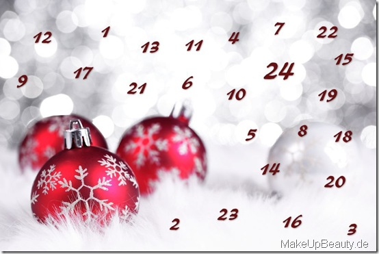 Adventskalender Beauty Online Weihnachten