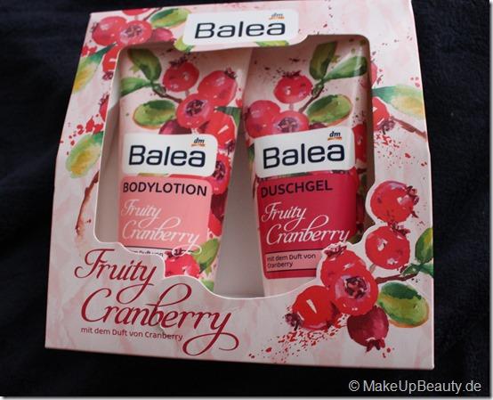 Balea Fruity Cranberry Geschenkset